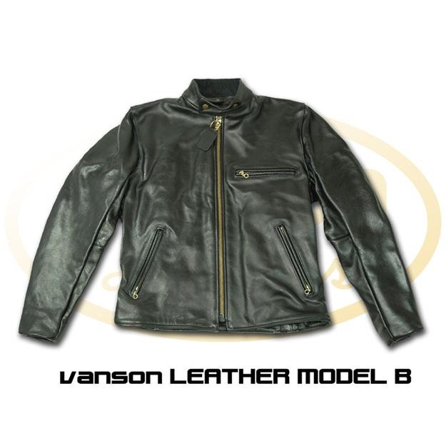 B型 皮革外套
