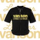 【VANSON】V-1 棉質拉鏈襯衫