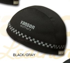 格紋內襯帽
