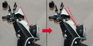 儀錶降低改裝支架