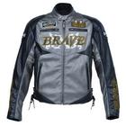 【BRAVE X】打孔仿皮革夾克
