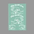 【Clay smith】WHITE MONO  貼紙