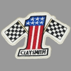 【Clay smith】OFFICIAL CUSTOM PATCHES NO1 電繡徽章
