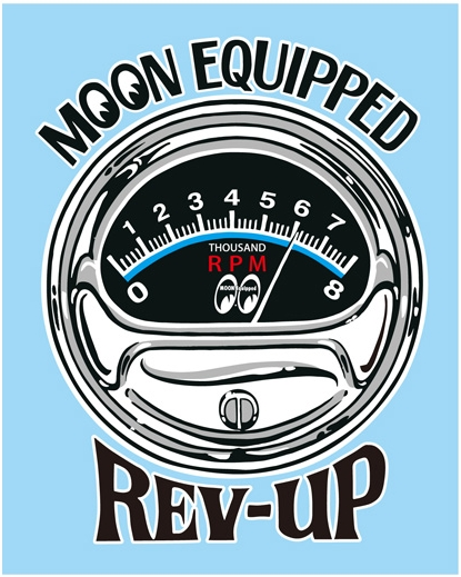 EQUIPPED REV-UP 貼紙