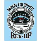 【MOON EYES】EQUIPPED REV-UP 貼紙
