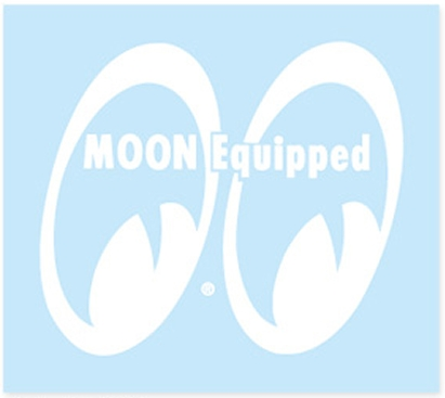 MOON EQUIPPED EYE SHAPE 貼紙