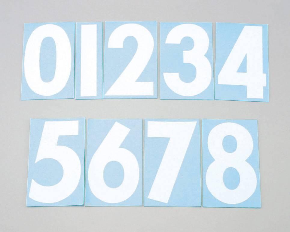 【KITACO】號碼貼紙<0> 前/Shiloh/3Mai - 「Webike-摩托百貨」