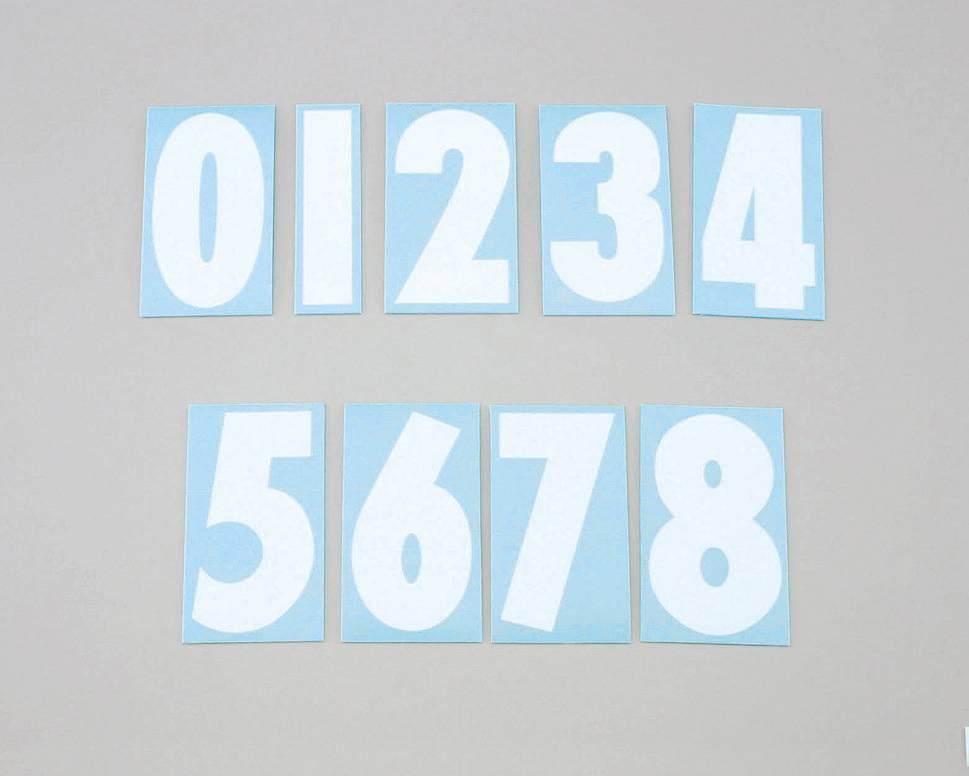 【KITACO】號碼貼紙<0> SIDE/Shiloh/3Mai - 「Webike-摩托百貨」