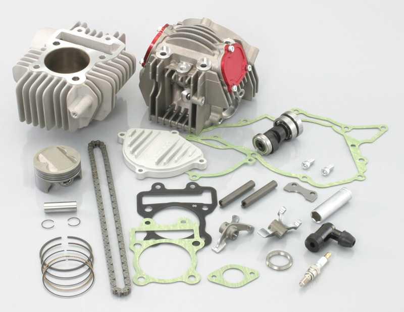 【KITACO】ULTRA-SE 4 汽門加大缸徑套件(143cc) - 「Webike-摩托百貨」