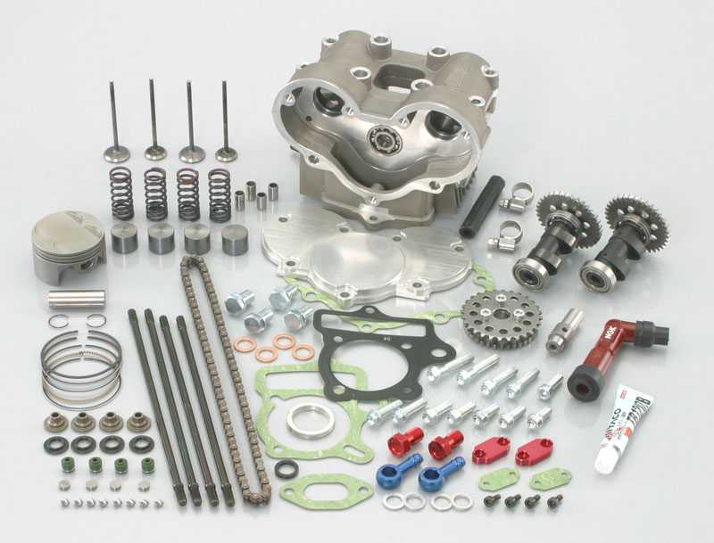 ULTRA-SE124cc → DOHC124cc 升級套件