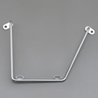 DAYTONA Saddle bag support Chrome On the right side for