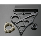 K-FACTORY Front Sprocket Cover (Speedometer installable)