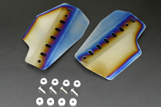 鈦合金散熱器 (水箱) 導風板
