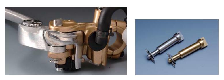【N PROJECT】NISSIN 競賽型鋁合金煞車拉桿軸固定銷 - 「Webike-摩托百貨」