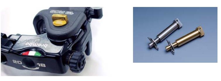 NISSIN 競賽型鋁合金煞車拉桿軸固定銷 (鈦色)