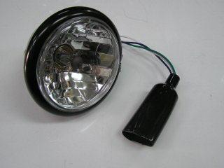 通用型  晶鑽頭燈 (黑色)