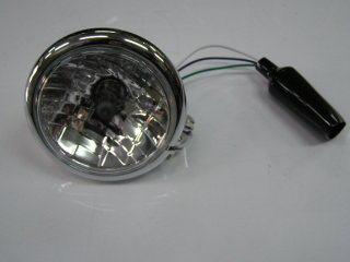 通用型  晶鑽頭燈 (電鍍)