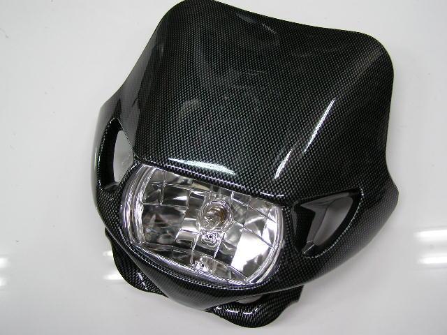 MotoCross 頭燈整流罩 整流罩/反射式頭燈