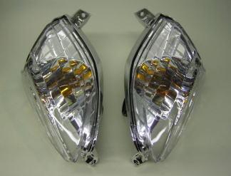 晶鑽型前透明方向燈總成