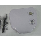 【KN企劃】MotoCross 頭燈整流罩 編號整流罩 (白色)