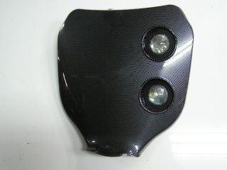MotoCross 頭燈整流罩編號整流罩 (碳纖維紋路)