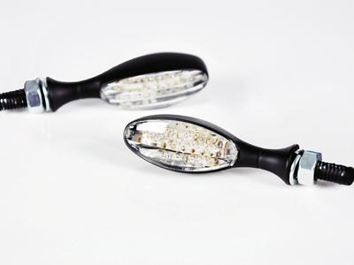 【STARTECH】通用型 LED方向燈 T Type (透明燈殼/黑色背蓋)