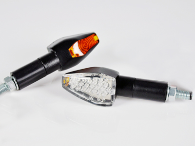 【STARTECH】通用型 LED方向燈 A Type (長/透明燈殼/黑色背蓋)