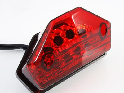 【STARTECH】通用型 LED尾燈 (紅色燈殼)