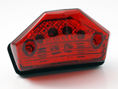 【STARTECH】通用型 LED尾燈 (紅色燈殼)【方向燈付】