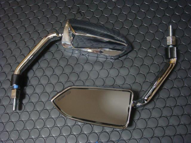 BCD 後視鏡 (左右組 8mm 10mm 普通型) 【電鍍】