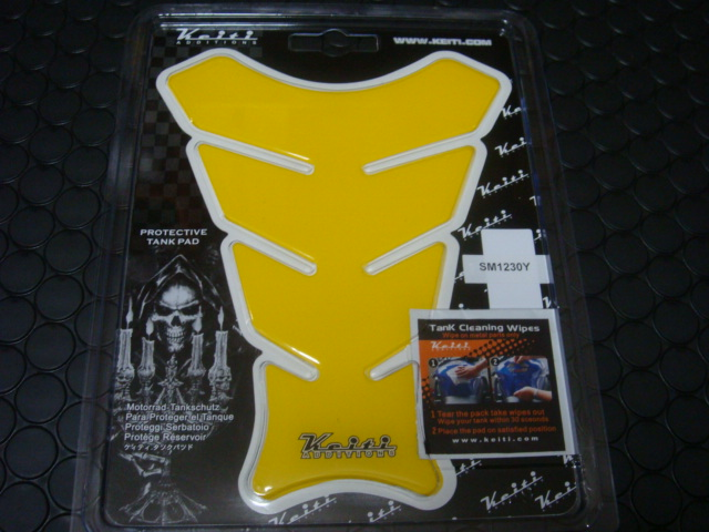 KEITI油箱貼片(黃色)