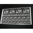 【KN企劃】KN企画 貼紙 【20枚入】