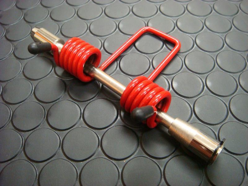 Cygnus X 【SE44J】 坐墊彈簧阻尼器 【紅色】