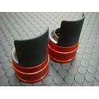 【KN企劃】Cygnus X 【台灣版33φ】 BWS125 鋁合金前叉防塵蓋蓋【橙色】