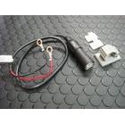 【KN企劃】車載用 USB電源供應器 【鋁合金本體/黑色】