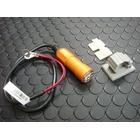 【KN企劃】車載用 USB電源供應器 【鋁合金本體/橘色】
