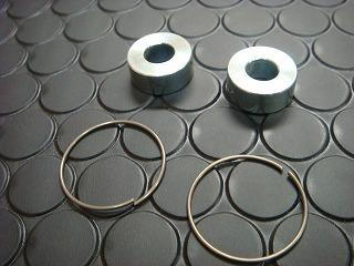 鋁合金切削加工 前叉附件 (V125-23用)