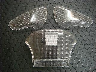透明方向燈/透明尾燈殼 【LETS2/ZZ/CA1KA/CA1PA】