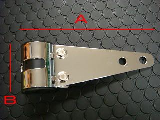 【KN企劃】 通用型 頭燈支架【電鍍】 - 「Webike-摩托百貨」