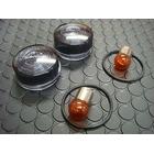 KN Planning Smoked Blinker Lens Set [MONKEY Series/APE Series]