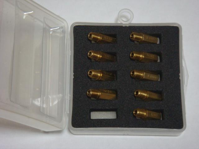 主油嘴組 (加大化油器用) MJ160S
