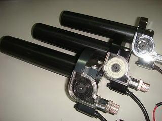 STAGE6 加大化油器用 快速油門套件 (燻黑色)