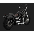 【VANCE&HINES】鍍鉻/ 黑色全段排氣管 (HI-OUTPUT GRENADES 2-INTO-2 CHROME / BLACK)