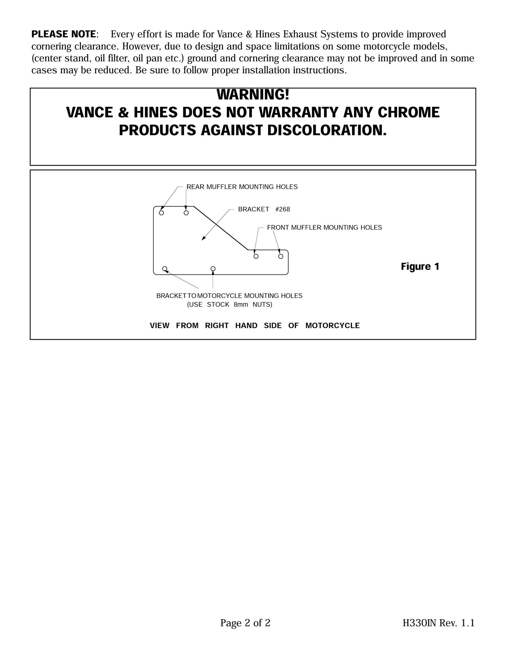 【VANCE&HINES】CRUZERS 全段排氣管 - 「Webike-摩托百貨」