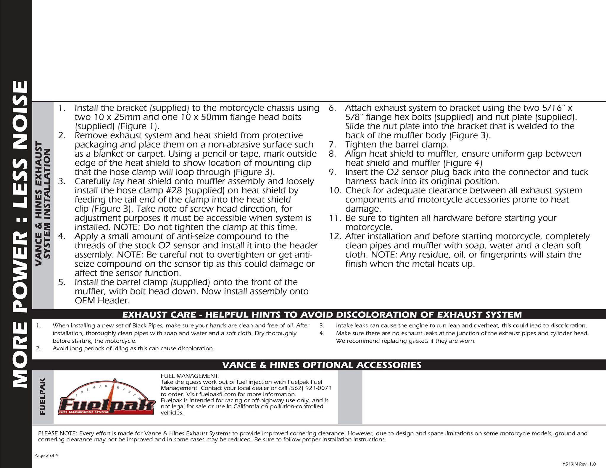 【VANCE&HINES】COMPETITION SERIES 排氣管尾段 - 「Webike-摩托百貨」