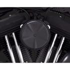【VANCE&HINES】SKULLCAP COVER BLACK MULTI-FIT 99-11 空濾外蓋(選配及維修用)- (黑色)