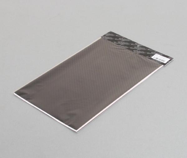 Elmard 碳纖維樣式單片貼紙 黑 210mm×330mm