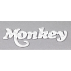 【STAGE】Elmard 立體貼紙 MONKEY/銀