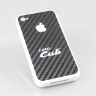 【STAGE】Little Cub標誌印刷 iPhone4手機保護殼