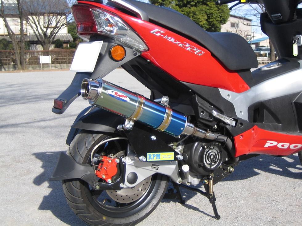 80D-RAPTOR 鈦合金 全段排氣管
